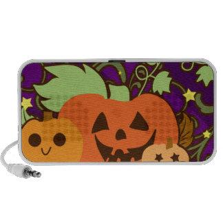 Feliz Halloween tres linternas lindas del o de J iPod Altavoces