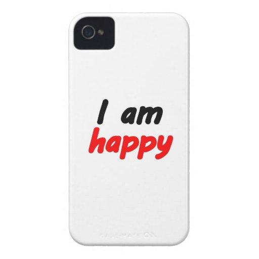 Feliz iPhone 4 Protectores
