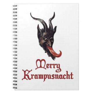 Feliz Krampusnacht Libro De Apuntes