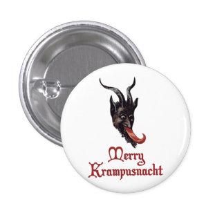 Feliz Krampusnacht Pin Redondo De 1 Pulgada