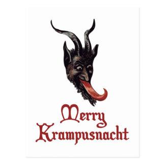 Feliz Krampusnacht Tarjetas Postales