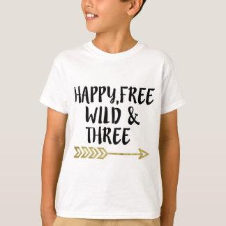 Feliz, libre, salvaje y tres, 3ro muchacho del playeras