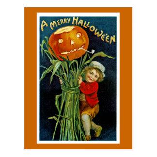 Feliz linterna del o de Halloween Jack Postales