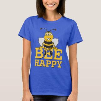 Feliz manosee la abeja playera
