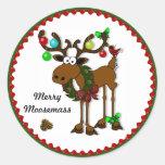 Feliz Moosemass Etiqueta