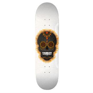 Feliz Muertos - cráneo festivo del azúcar Skateboards