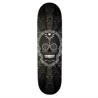Feliz Muertos - cráneo festivo del azúcar Tabla De Patinar