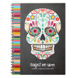 Feliz Muertos - cuaderno del personalizado del crá