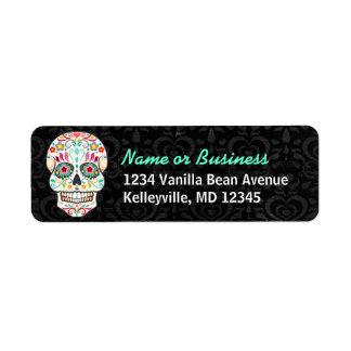 Feliz Muertos - Custom Sugar Skull Address Labels