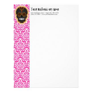 Feliz Muertos - Custom Sugar Skull Letterhead