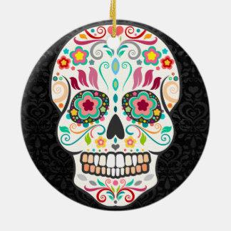 Feliz Muertos - Custom Sugar Skull Ornament Christmas Ornaments
