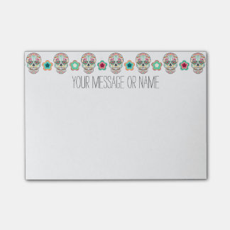 Feliz Muertos - Custom Sugar Skull Post-it® Notes