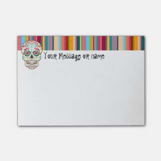 Feliz Muertos - Custom Sugar Skull Post-it® Notes