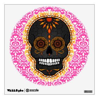 Feliz Muertos - etiqueta festiva de la pared de Vinilo