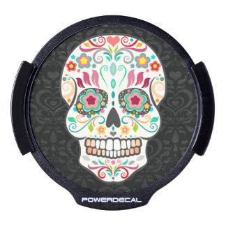 Feliz Muertos - etiqueta festiva del poder del crá Sticker LED Para Ventana