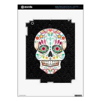 Feliz Muertos - Festive Sugar Skull iPad 3 Skin