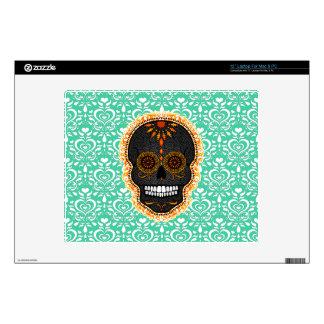 Feliz Muertos - Festive Sugar Skull Laptop Skin