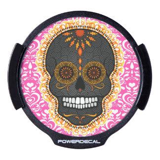 Feliz Muertos - Festive Sugar Skull Power Decal