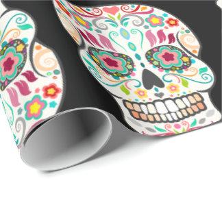 Feliz Muertos - Happy Sugar Skulls Wrapping Paper