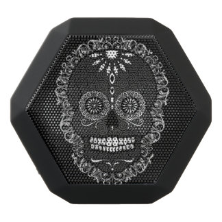 Feliz Muertos - Sugar Skull Black Bluetooth Speaker