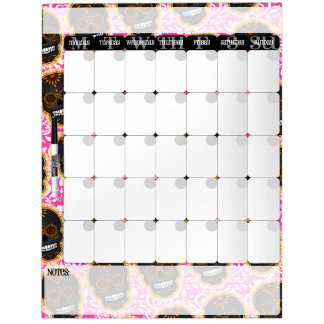 Feliz Muertos - tablero del calendario de los Pizarra