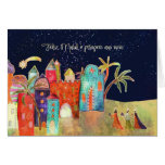 Feliz natal, Felices Navidad en portugués Tarjeta