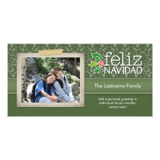 Feliz Navidad - 1 foto Card