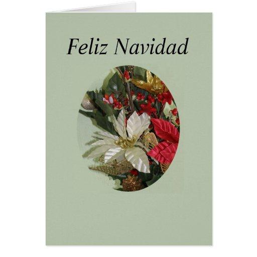 Feliz Navidad-4 Greeting Card