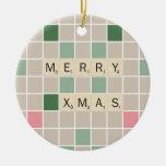 Feliz Navidad Adorno De Navidad
