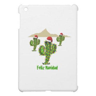 Feliz Navidad - Arizona Christmas Saguaro Lights iPad Mini Case