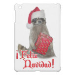 Feliz Navidad - bandido del mapache del navidad