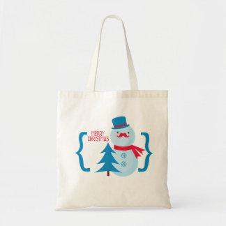 ¡Feliz Navidad! Bolsa Tela Barata