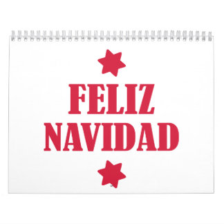 Feliz Navidad Calendar