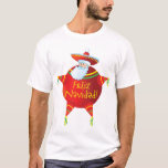 Feliz Navidad - camiseta española, español Santa