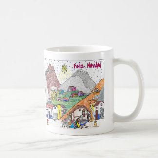 Feliz Navidad - Christmas in Venezuela (VE) Coffee Mug