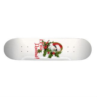 Feliz Navidad - Christmas Kitten Skate Decks