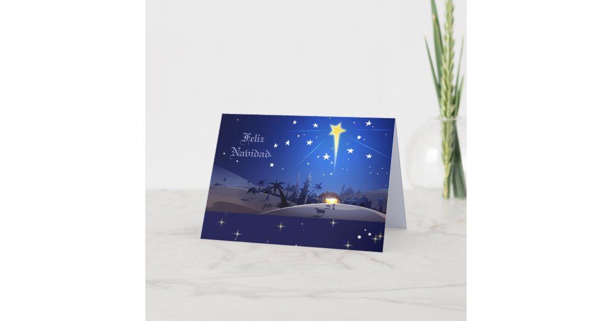 Feliz Navidad. Custom Spanish Christmas Cards | Zazzle.com
