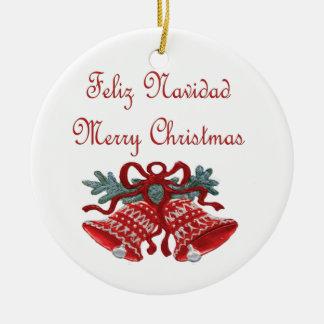 Feliz Navidad Adorno Para Reyes