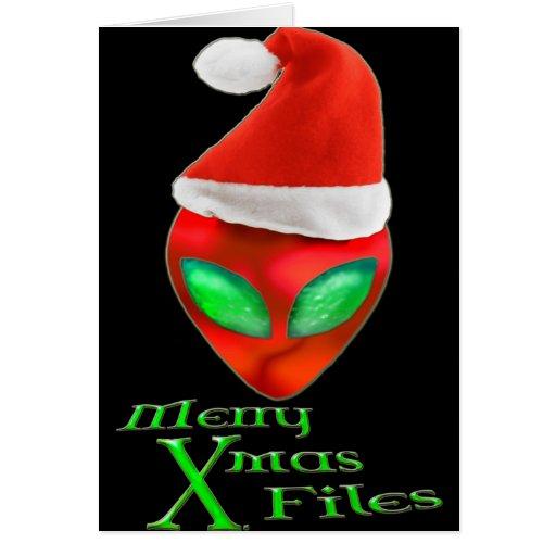 Feliz Navidad del extranjero archiva la tarjeta