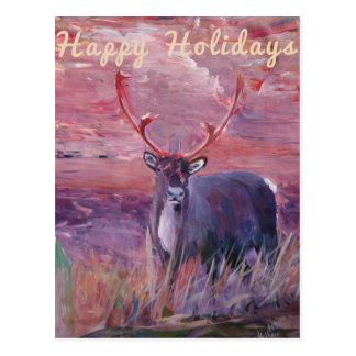 Feliz Navidad, día de fiesta feliz, Felize Tarjetas Postales