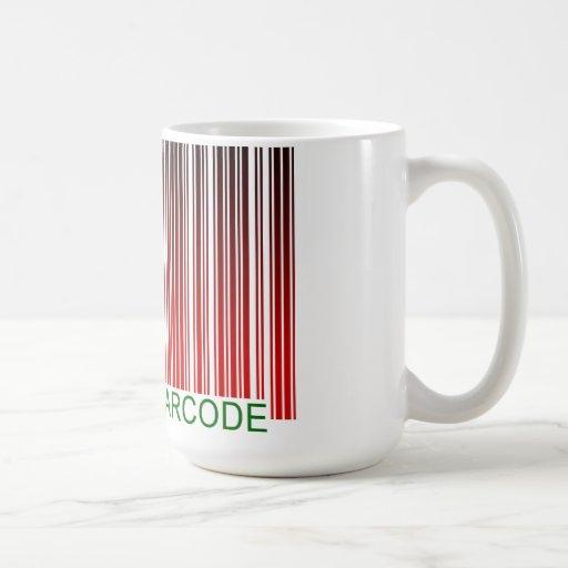 FELIZ NAVIDAD: explore este código de barras Taza