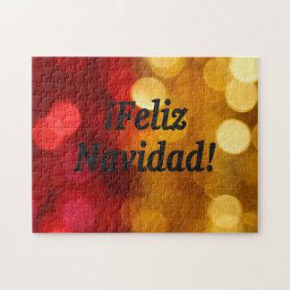 ¡¡Feliz Navidad! Felices Navidad en el FB español Puzzle