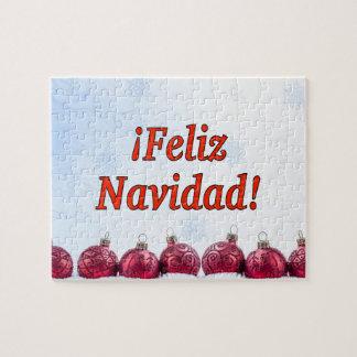 ¡¡Feliz Navidad! Felices Navidad en el rf español Puzzle