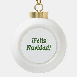 ¡¡Feliz Navidad! Felices Navidad en gf español Adornos