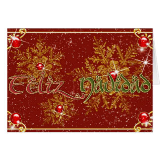 Feliz Navidad Felicitacion