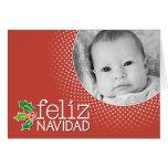 Feliz Navidad - frontera de la foto Felicitacion
