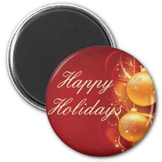 feliz navidad happy holiday magnet