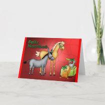 Feliz Navidad Holiday Card
