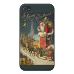 Feliz Navidad iPhone 4/4S Funda