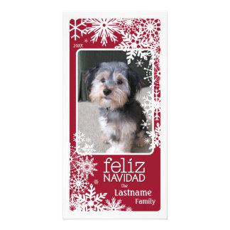 Feliz Navidad -  Let It Snow! Card